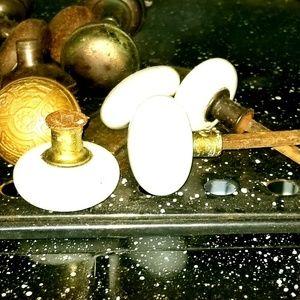 Antique porcelain doorknobs